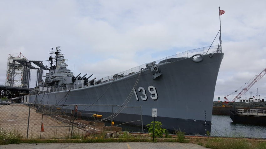 Police Group Of Four Men Broke Into Uss Salem In Quincy