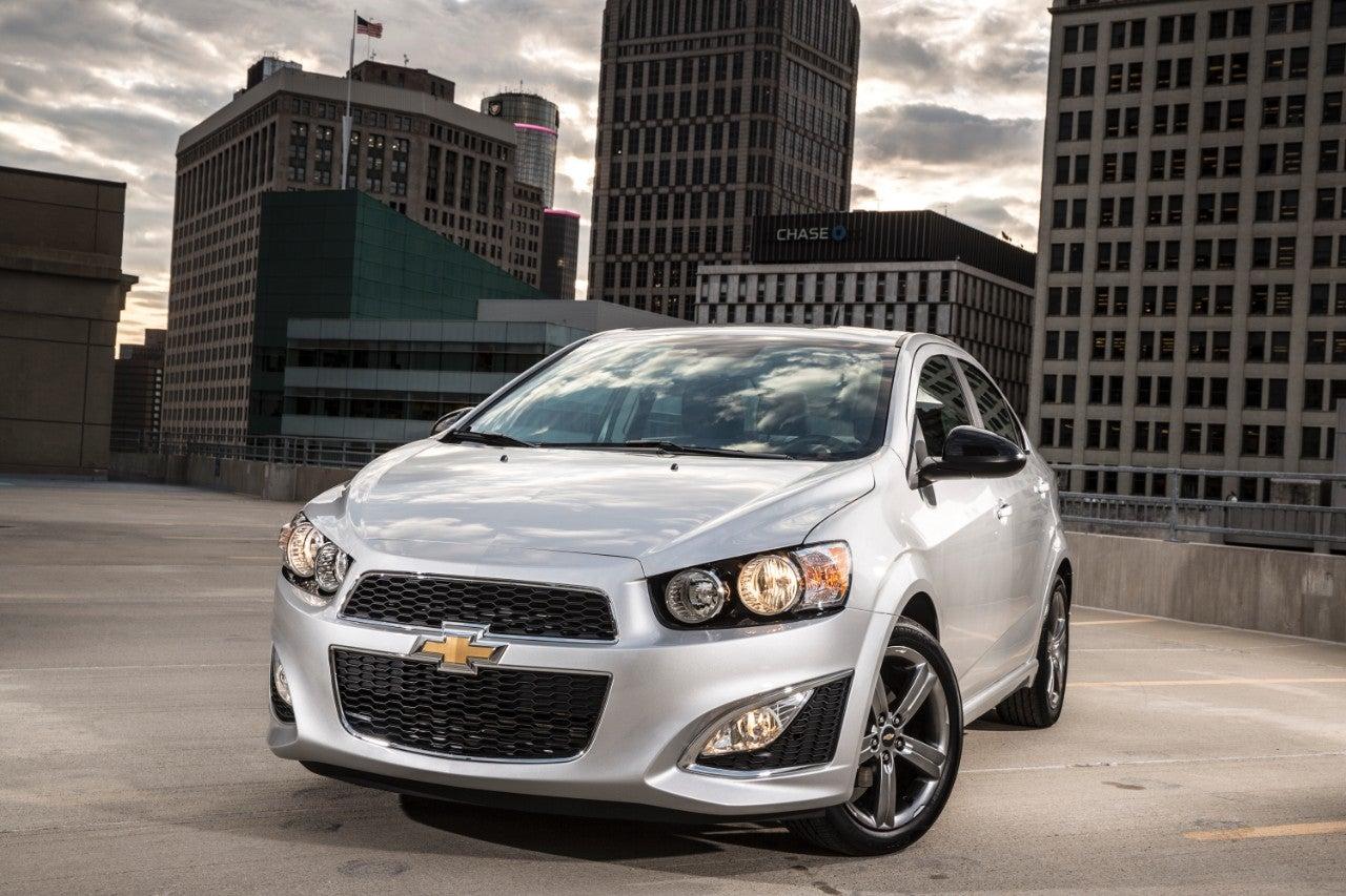 2016 Chevrolet Sonic.