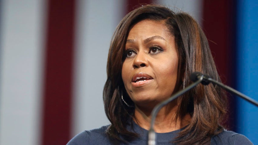 Image result for michelle obama new hampshire pictures