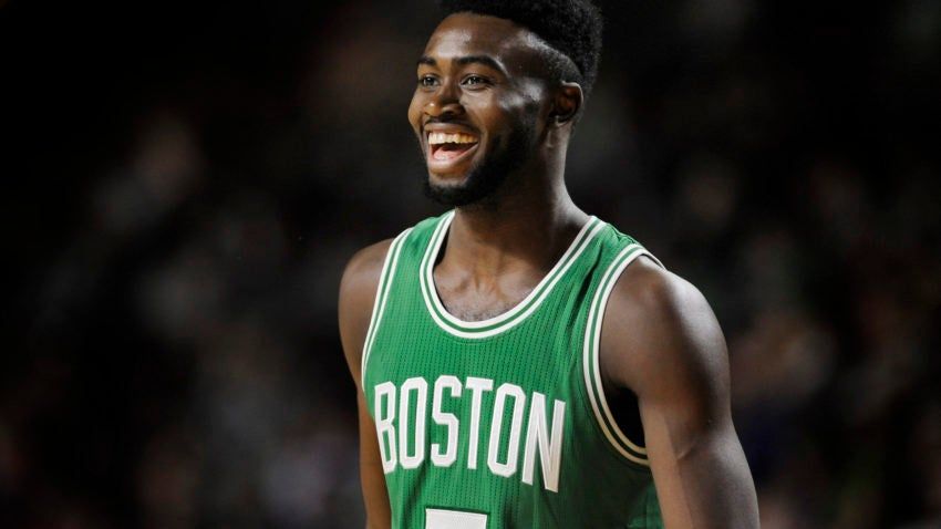 Jaylen Brown is holding his own among 2016's top draft ...
