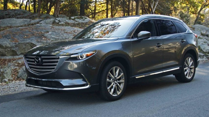 review mazda s cx 9 is a signature large crossover. Black Bedroom Furniture Sets. Home Design Ideas