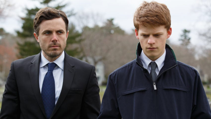 Casey Affleck and Lucas Hedges in 'Manchester by the Sea.'