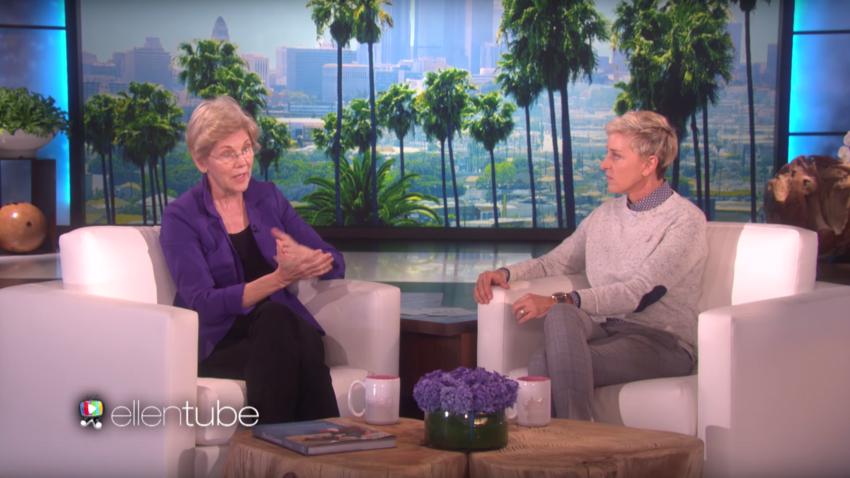 Elizabeth Warren And Ellen Degeneres Encourage Women To Make Their Vote Count This Election