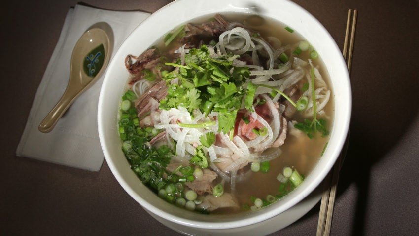 The most popular places to order pho from in Boston, according to delivery data
