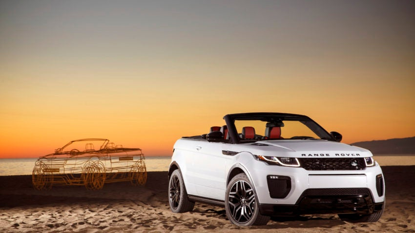 what the experts say about the 2017 range rover evoque. Black Bedroom Furniture Sets. Home Design Ideas