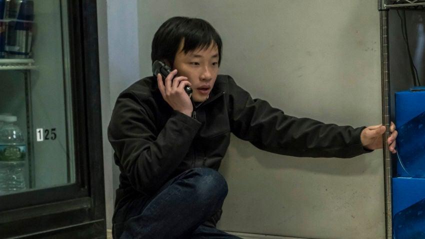 """Jimmy O. Yang as Dun """"Danny"""" Meng in 'Patriots Day.'"""