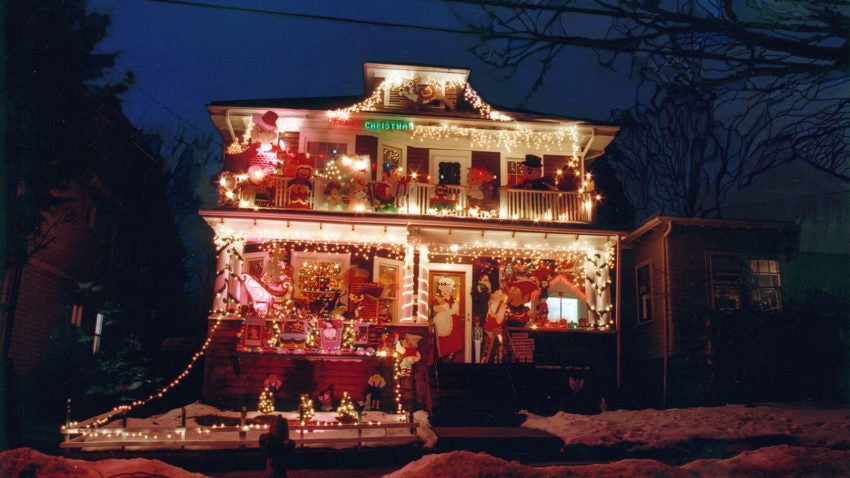 One of the Somerville homes included on the Illumination Tour.