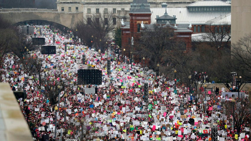 Over 1 million join anti-Trump women's marches worldwide | Boston.com