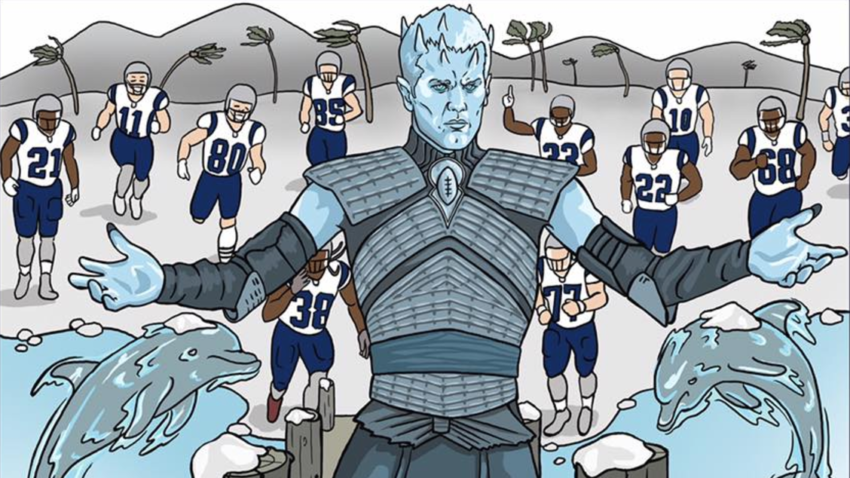 Tom Brady is the Game of Thrones 'Night King' in latest ...