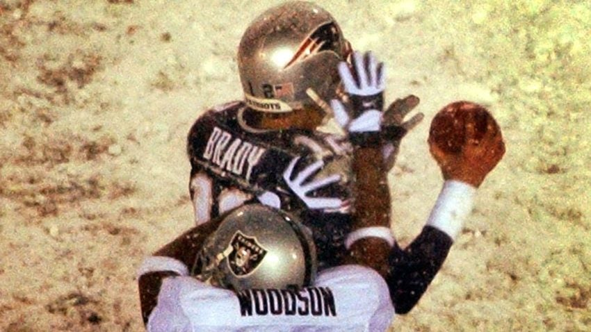 b5b8d067579 Rams-Saints  Charles Woodson is still tweeting about the  Tuck Rule ...
