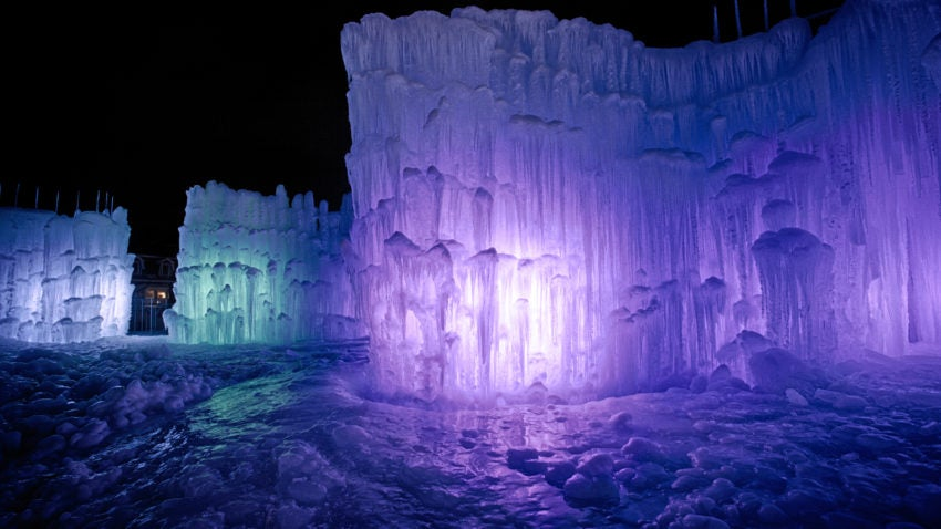 You Can Wander Through These Enormous Hand Crafted Ice