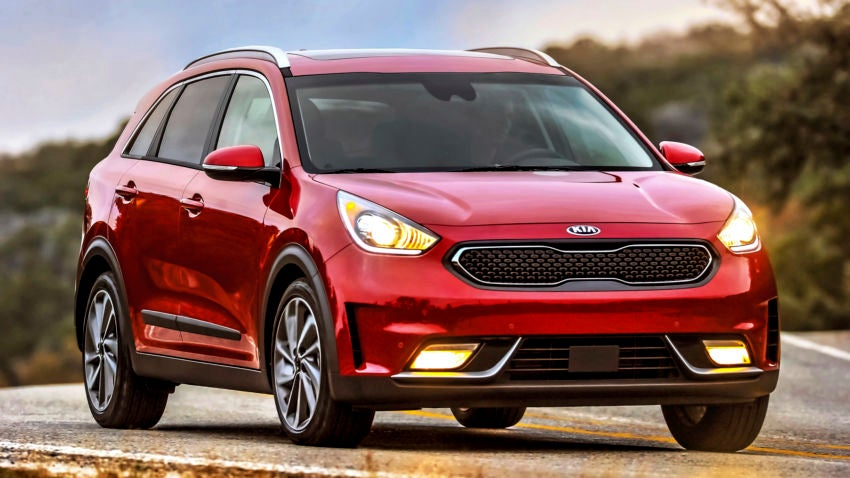 the 2017 kia niro is the most affordable hybrid suv. Black Bedroom Furniture Sets. Home Design Ideas