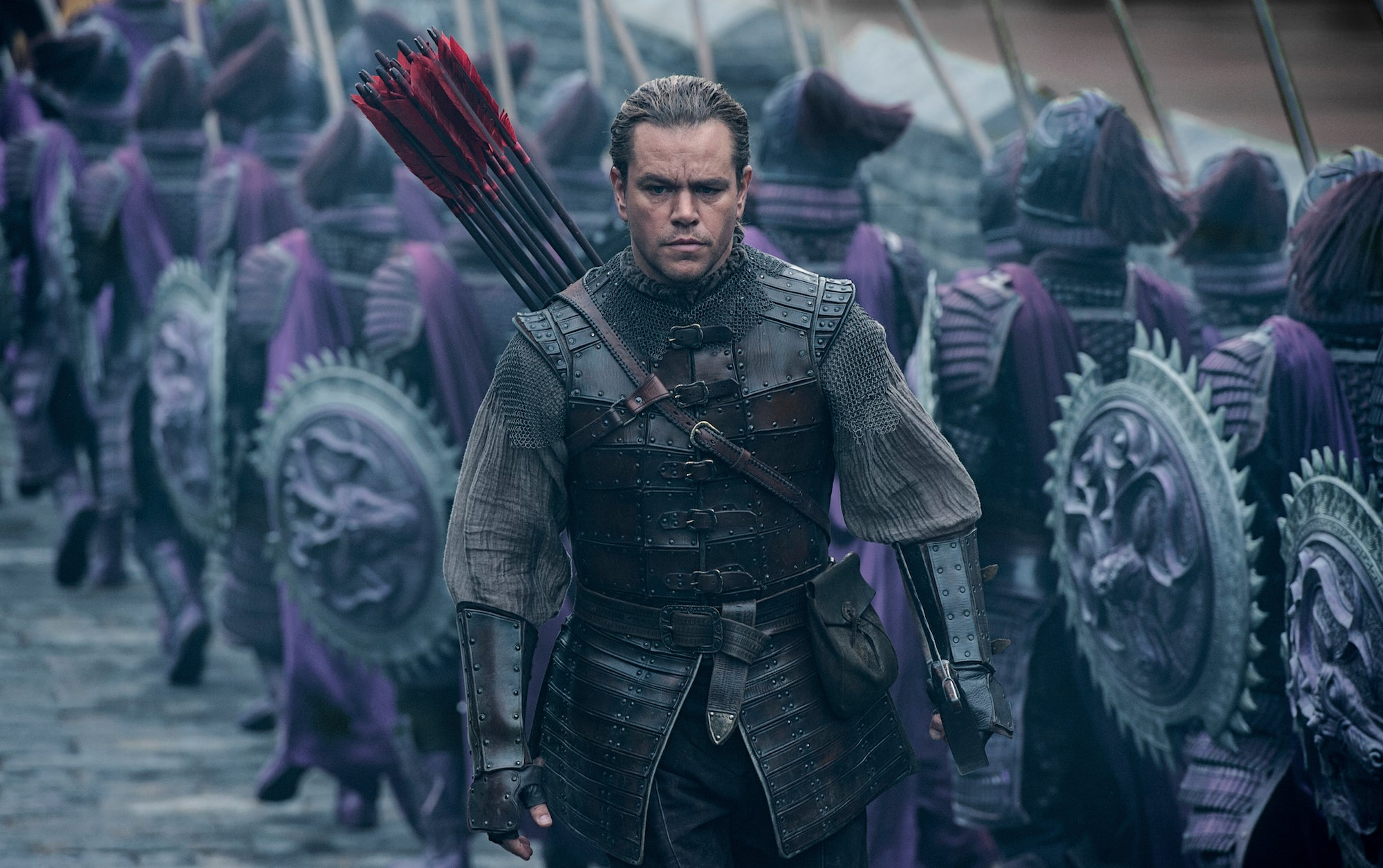 The Great Wall' is one of the worst-reviewed films of Matt