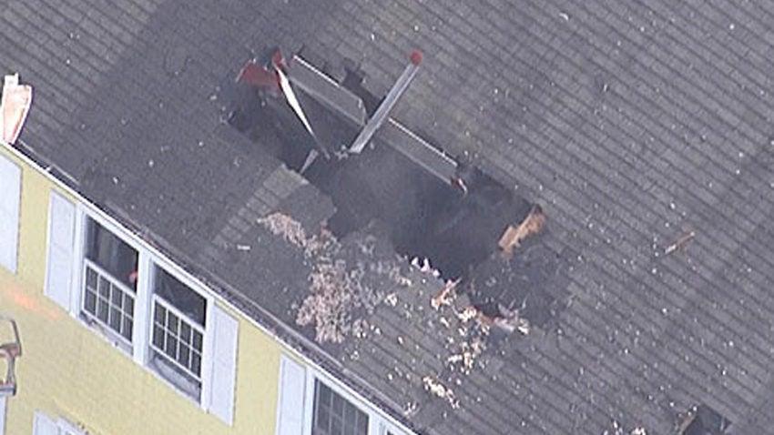 Home Built Plane Crashes Through Condo Roof Killing Pilot
