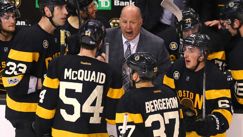 Bruins Fire Coach Claude Julien In 10th Season; Name Bruce Cassidy Interim Coach