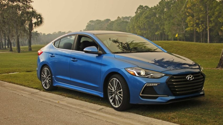 Review: Hyundai's Elantra Sport—it's hot stuff