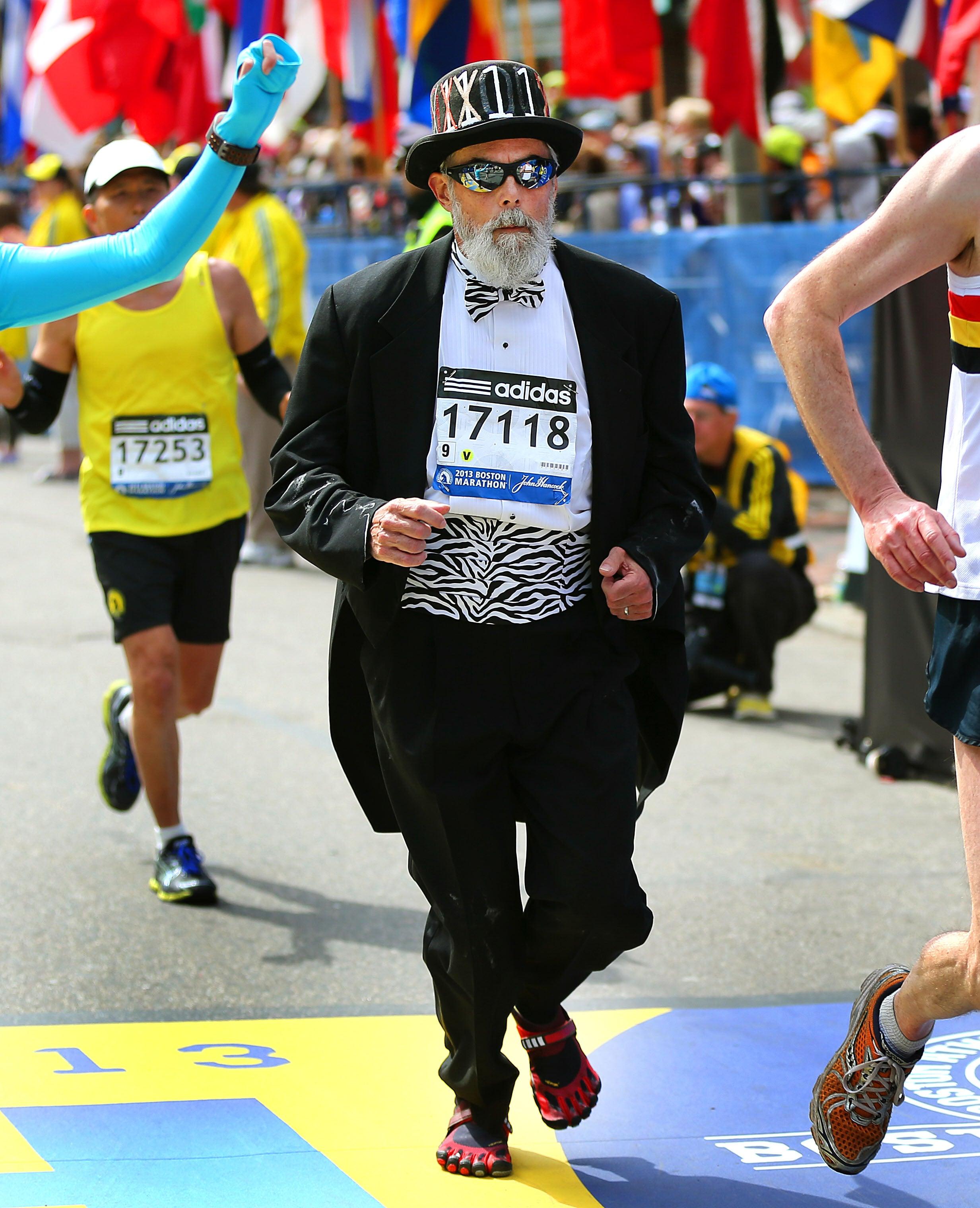 Boston Marathon 2013 Costumed Runners