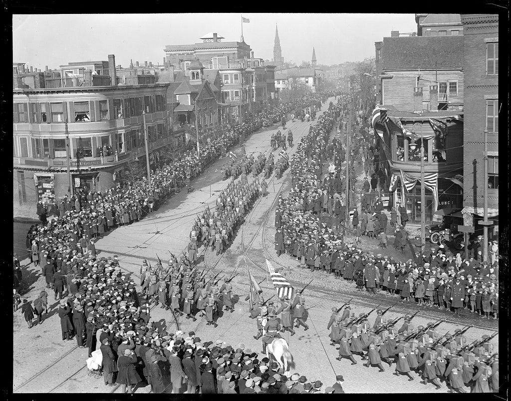 1853 Boston \u2013 Massachusetts Saint Patrick\u2019s Day Celebration