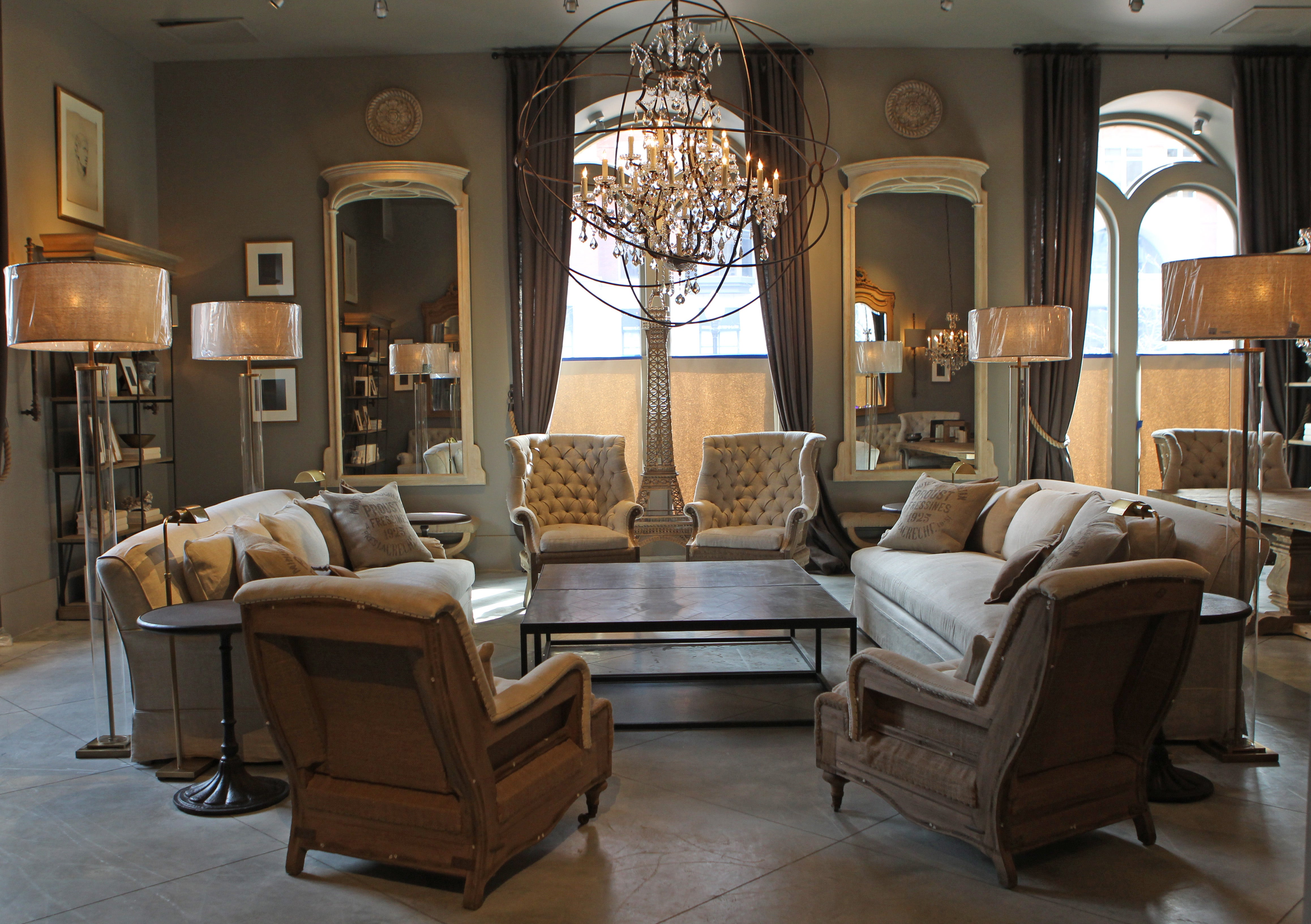 Restoration Hardware Opens New Flagship Store Boston Com