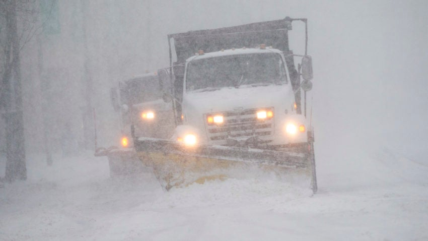 Here is the most—and least—amount of snow Massachusetts could get Tuesday