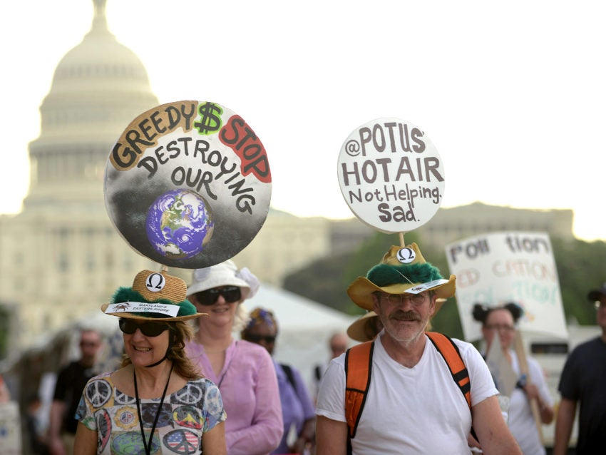 Photos: A look at the climate marches around the world