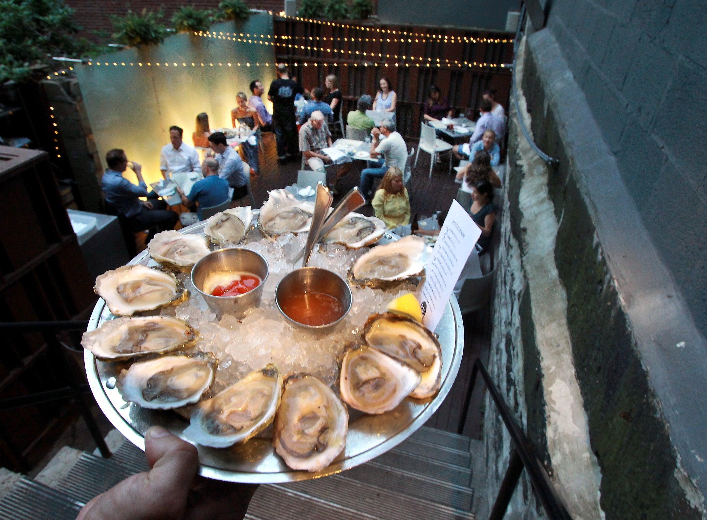 B&G Oysters in Boston