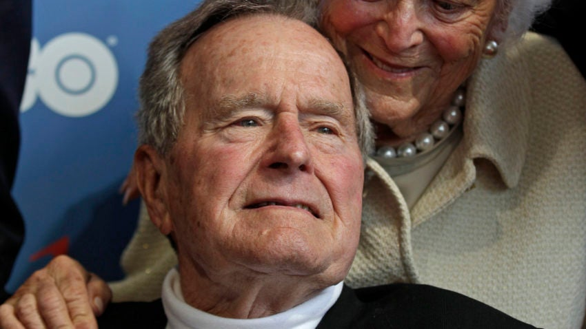 Former President George H.W. Bush in Maine for the summer ...