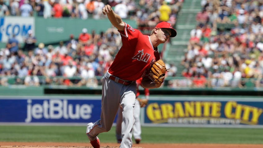 Angels score 3 after overturned call, beat Red Sox 4-2