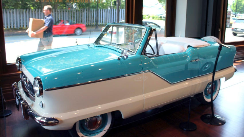 a car lover u2019s guide to newport  2 museums highlight design on wheels