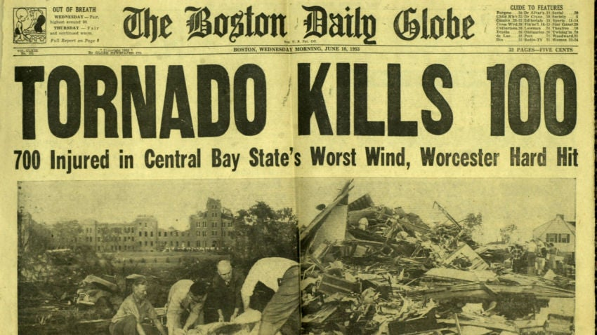 Remembering the deadly F4 tornado that ravaged Worcester