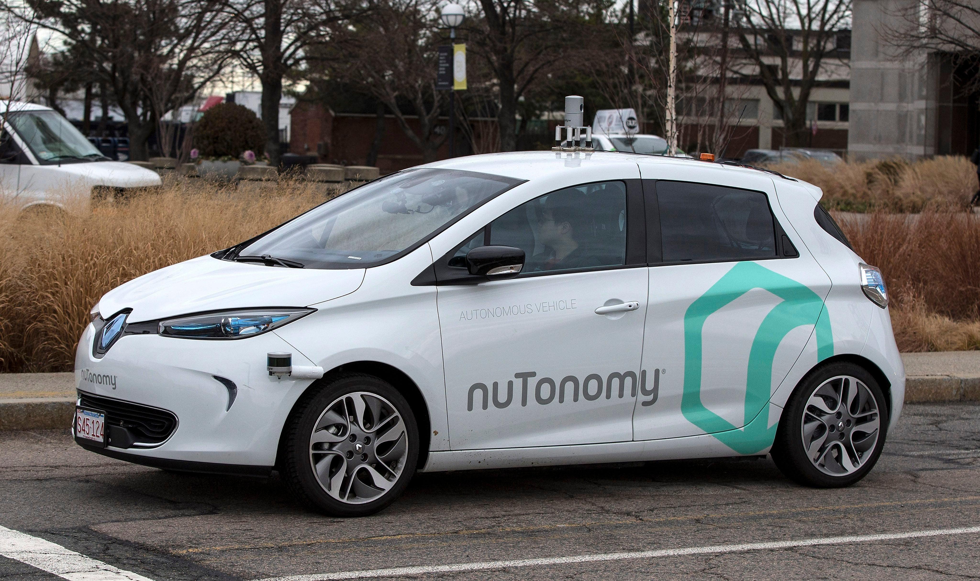 NuTonomy Self Driving Car in Boston