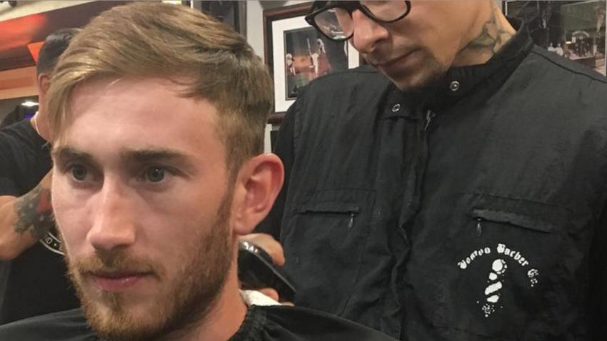 Gordon Hayward visited this Boston barbershop for a haircut