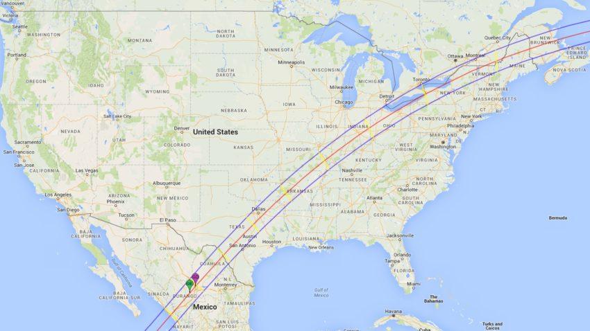 Path Of The 2024 Solar Eclipse In The United States Boston Com