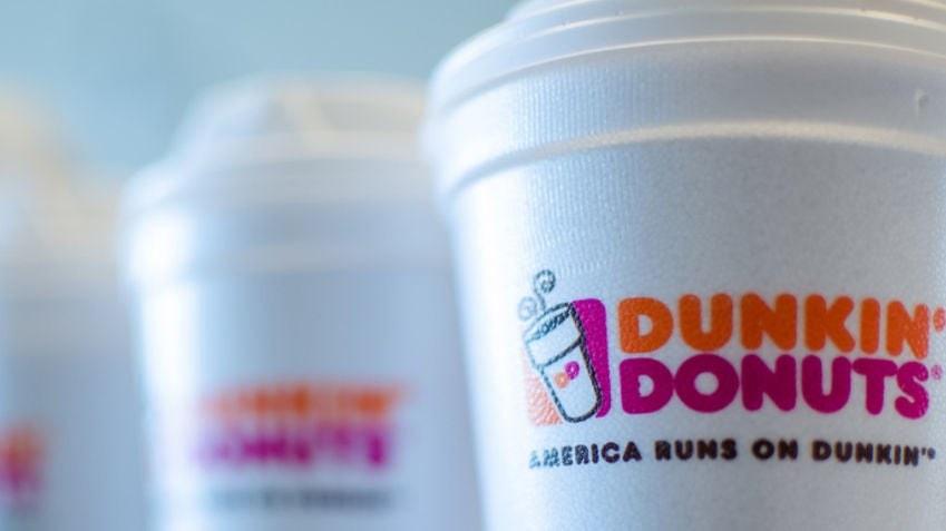 77af6d1cb08 Dunkin' Donuts says it will stop using foam cups by 2020 | Boston.com
