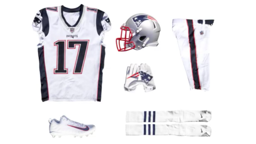 brand new 73c93 4cb61 Here are the 'color rush' uniforms the Patriots will wear on ...