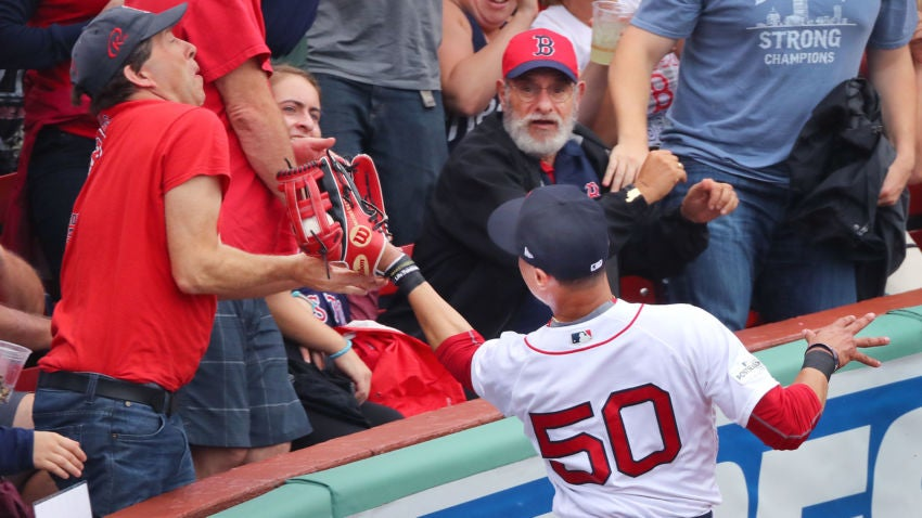 Image result for mookie betts catch alds