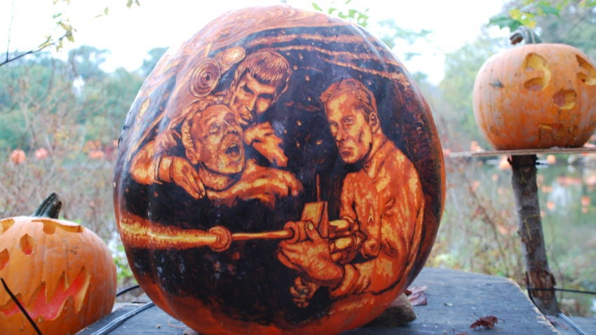 6 Pumpkin Carving Tips From The Guy Who Can Sculpt An Entire Star Trek Scene