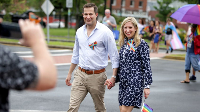 Busy Seth Moulton hasn't had time for a honeymoon yet ...