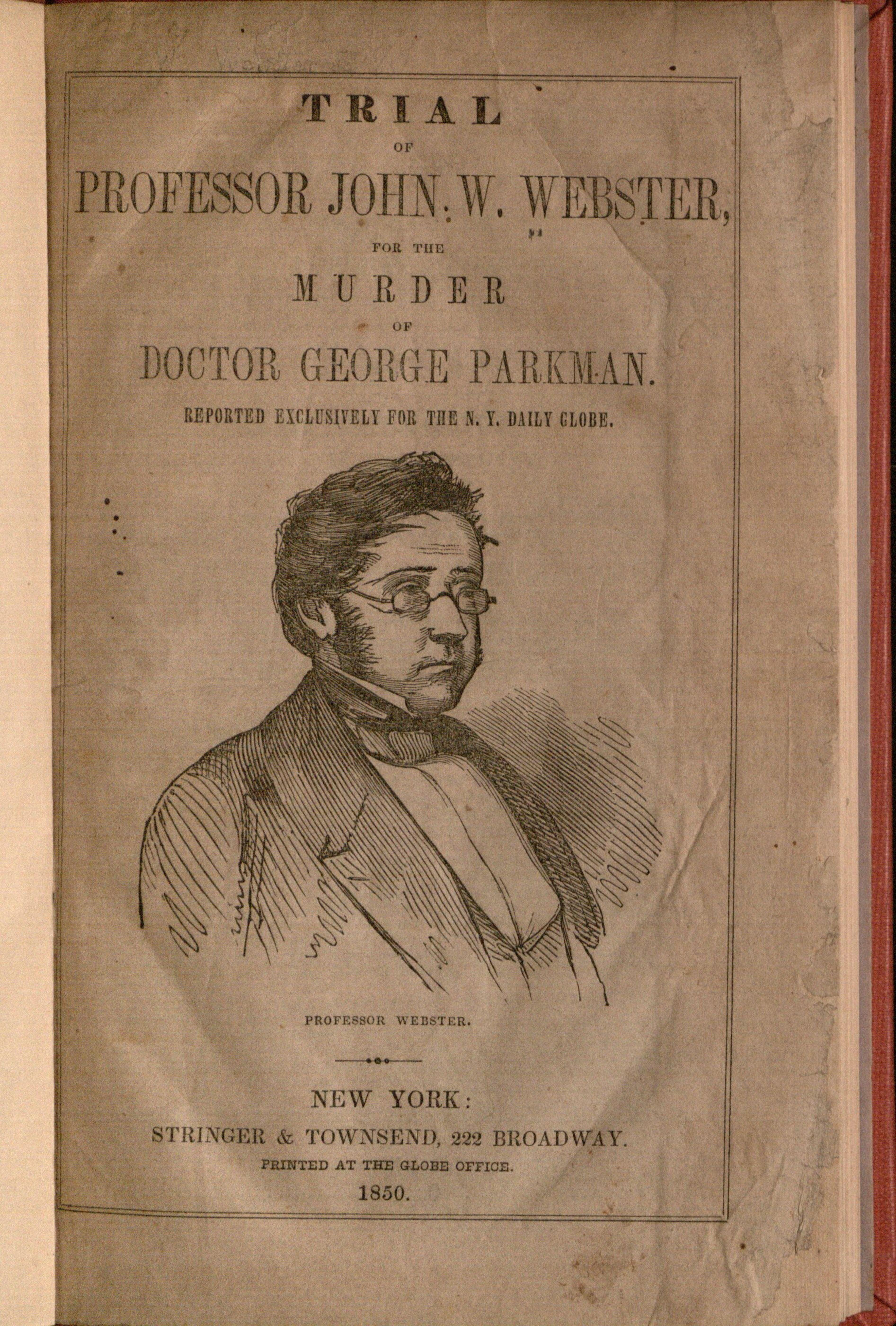 Parkman Murder Trial