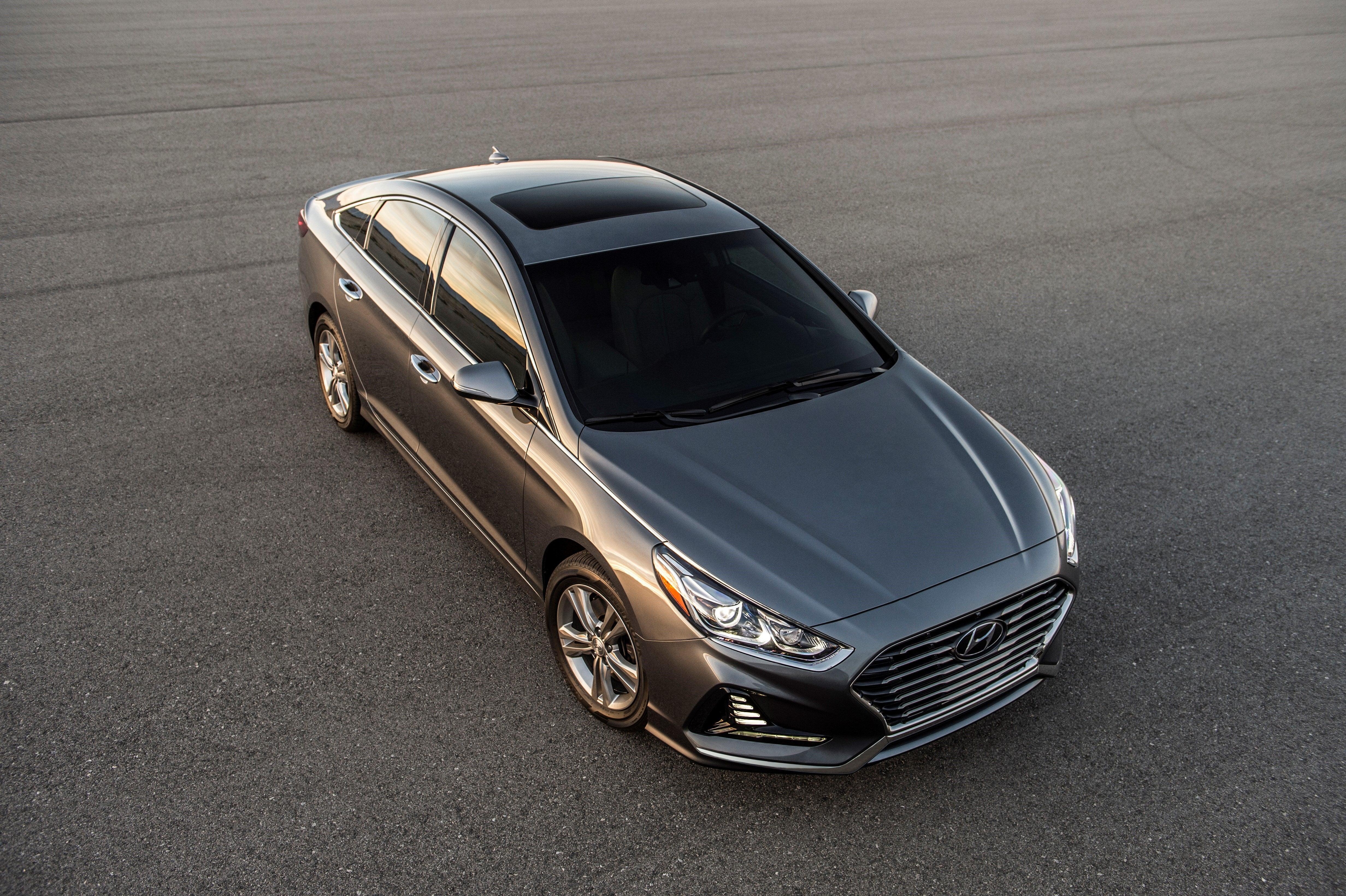The 2018 Hyundai Sonata is a sensible family sedan   Boston com