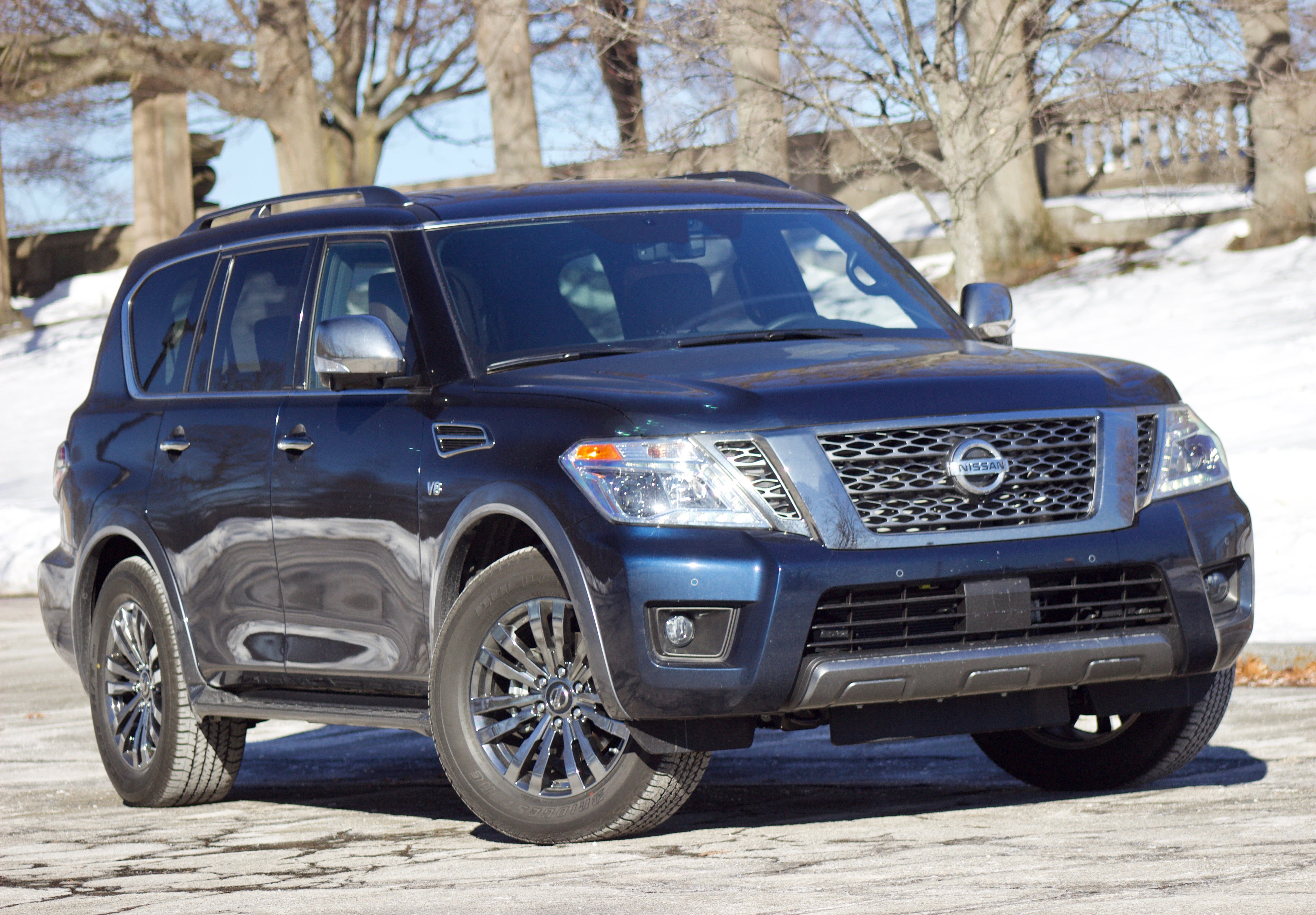 The 2018 Nissan Armada is overkill of the best sort | Boston