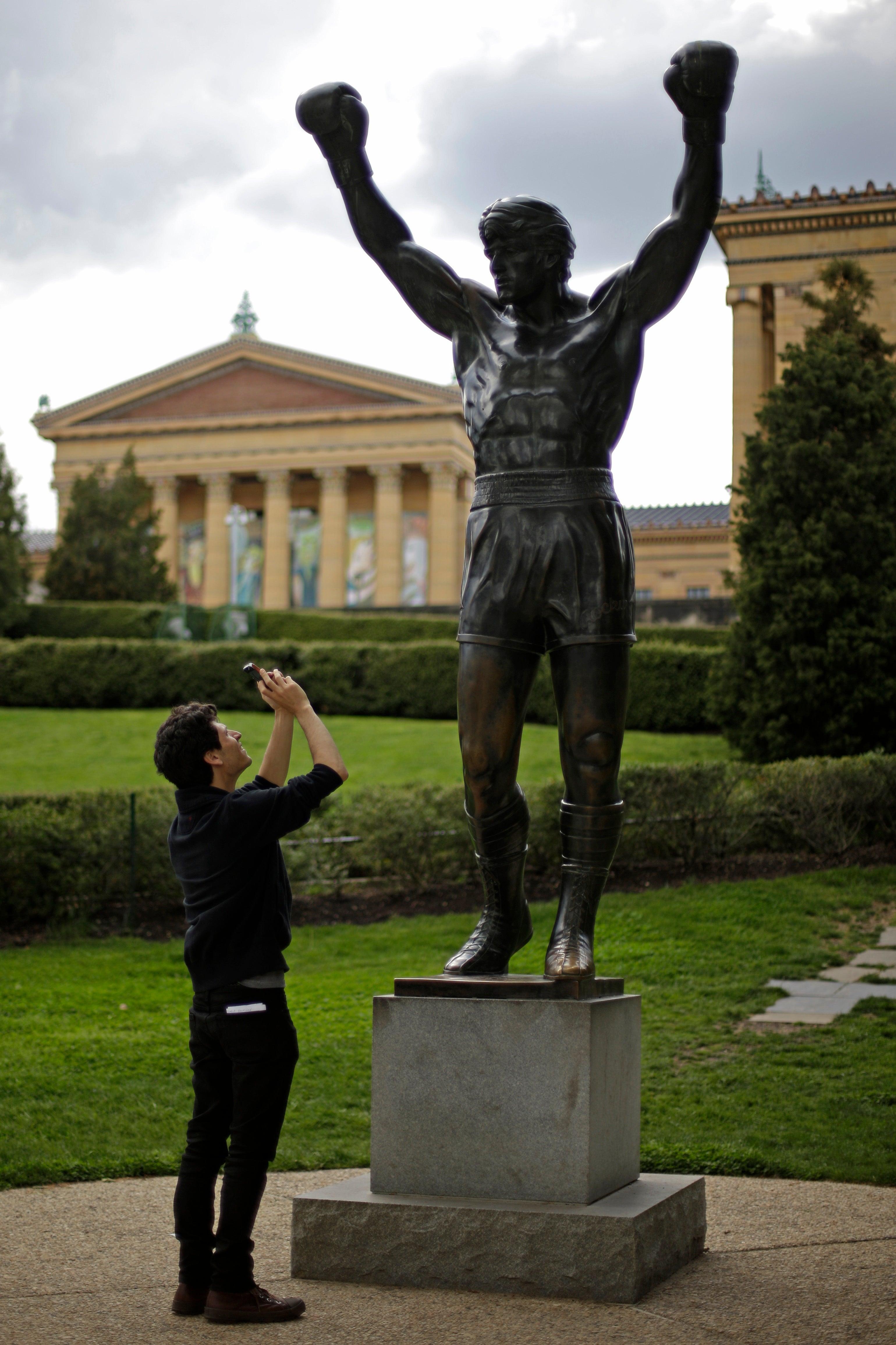 Philadelphia mayor accepts Brockton mayor's Rocky statue bet