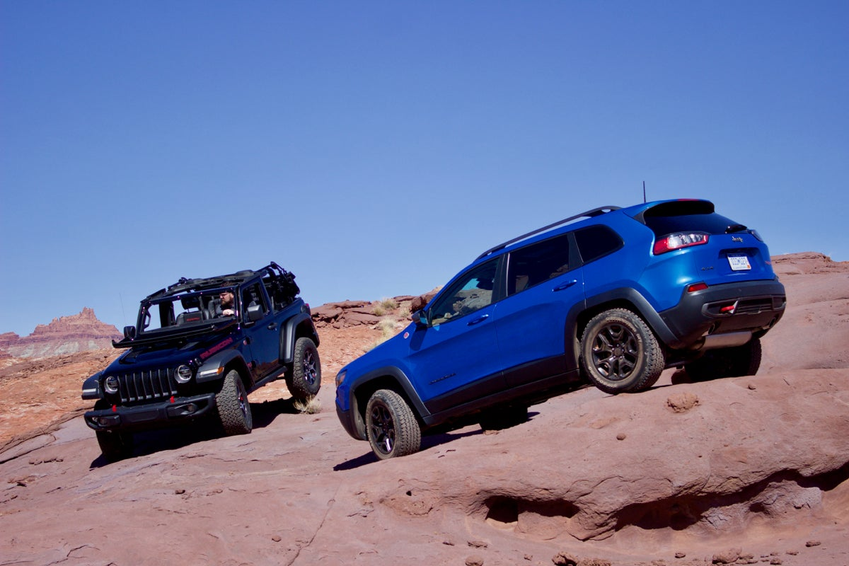 Is the 2019 Jeep Cherokee Trailhawk as capable as the