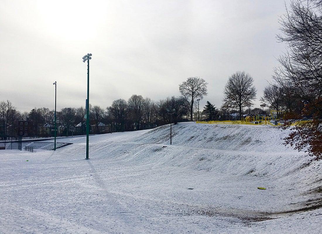 Fallon Field in Roslindale