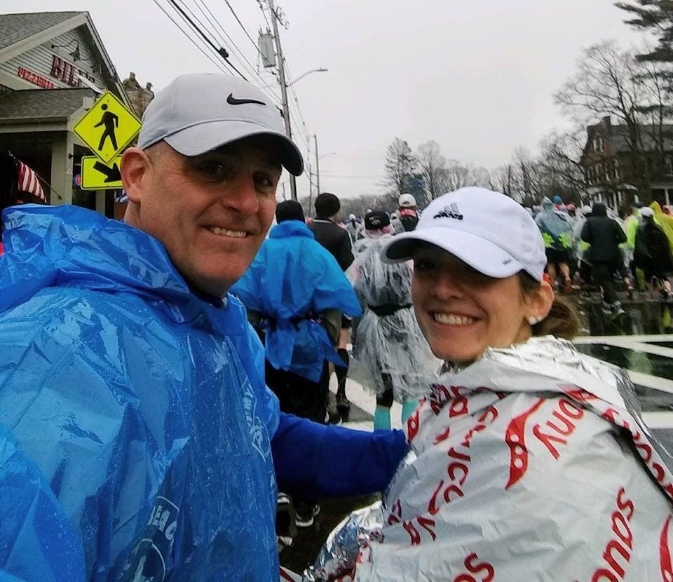 Caitlyn Callinan, 2018 Boston Marathon