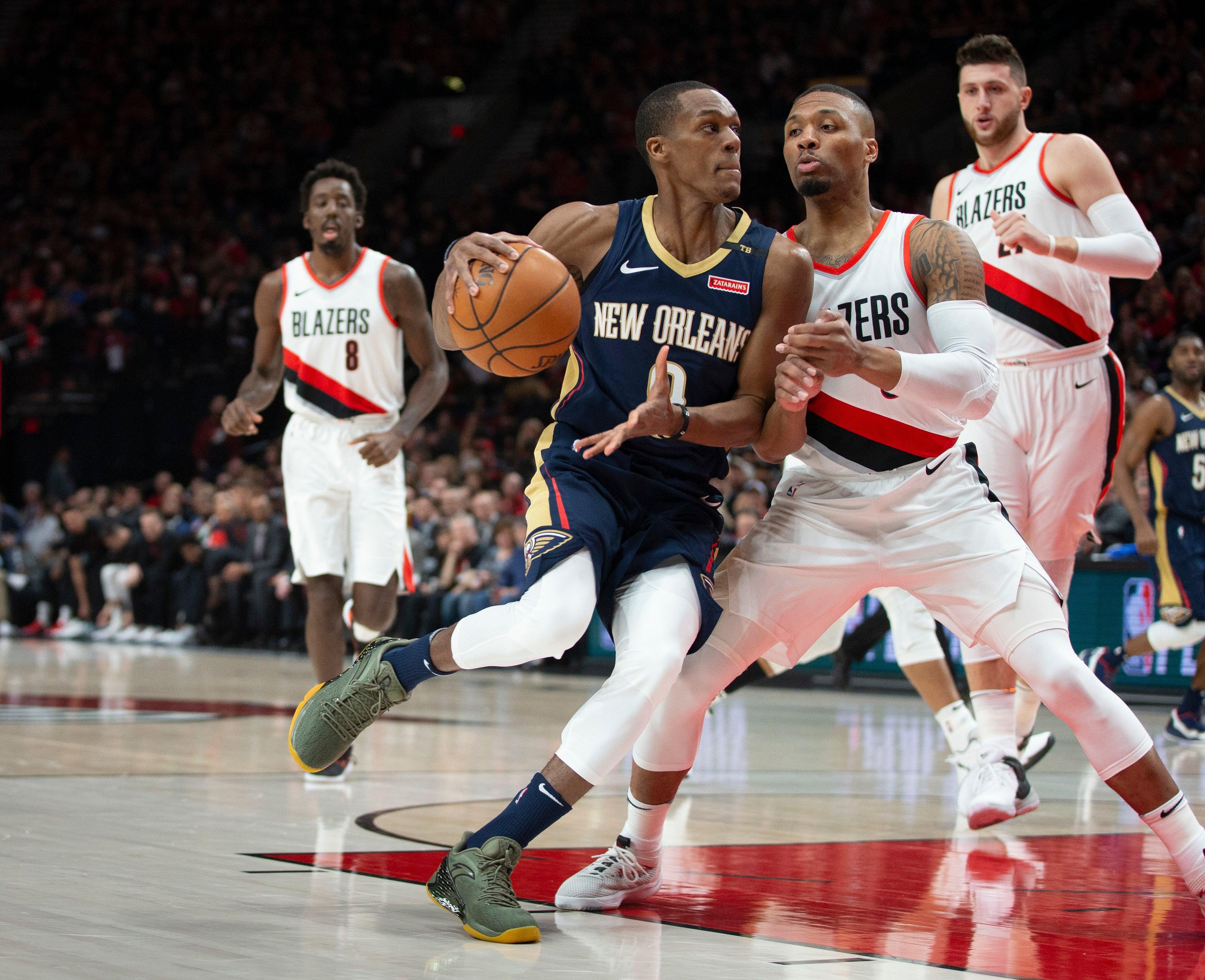 Rajon Rondo New Orleans Pelicans