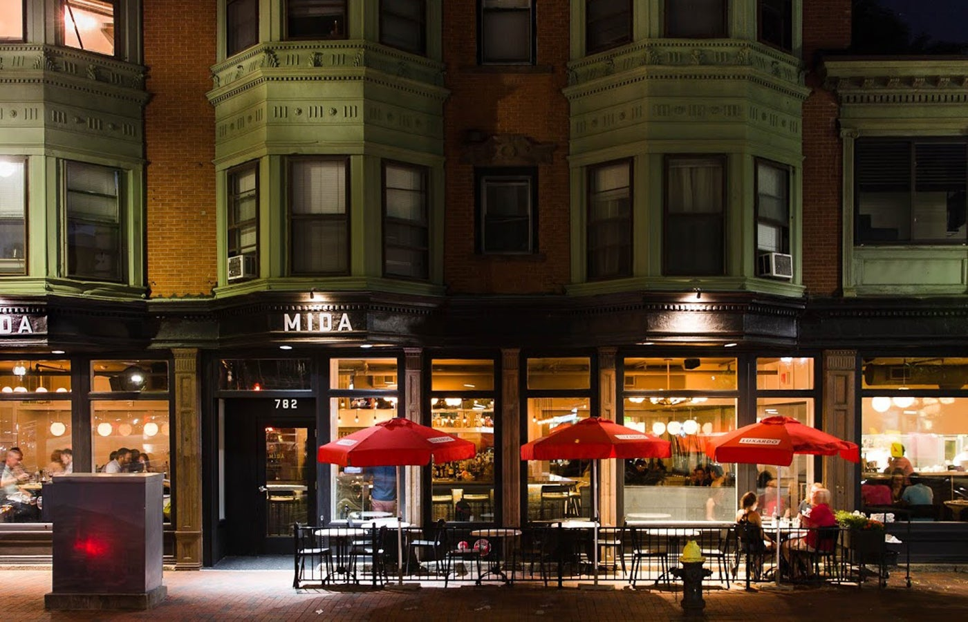 Mida restaurant in the South End.