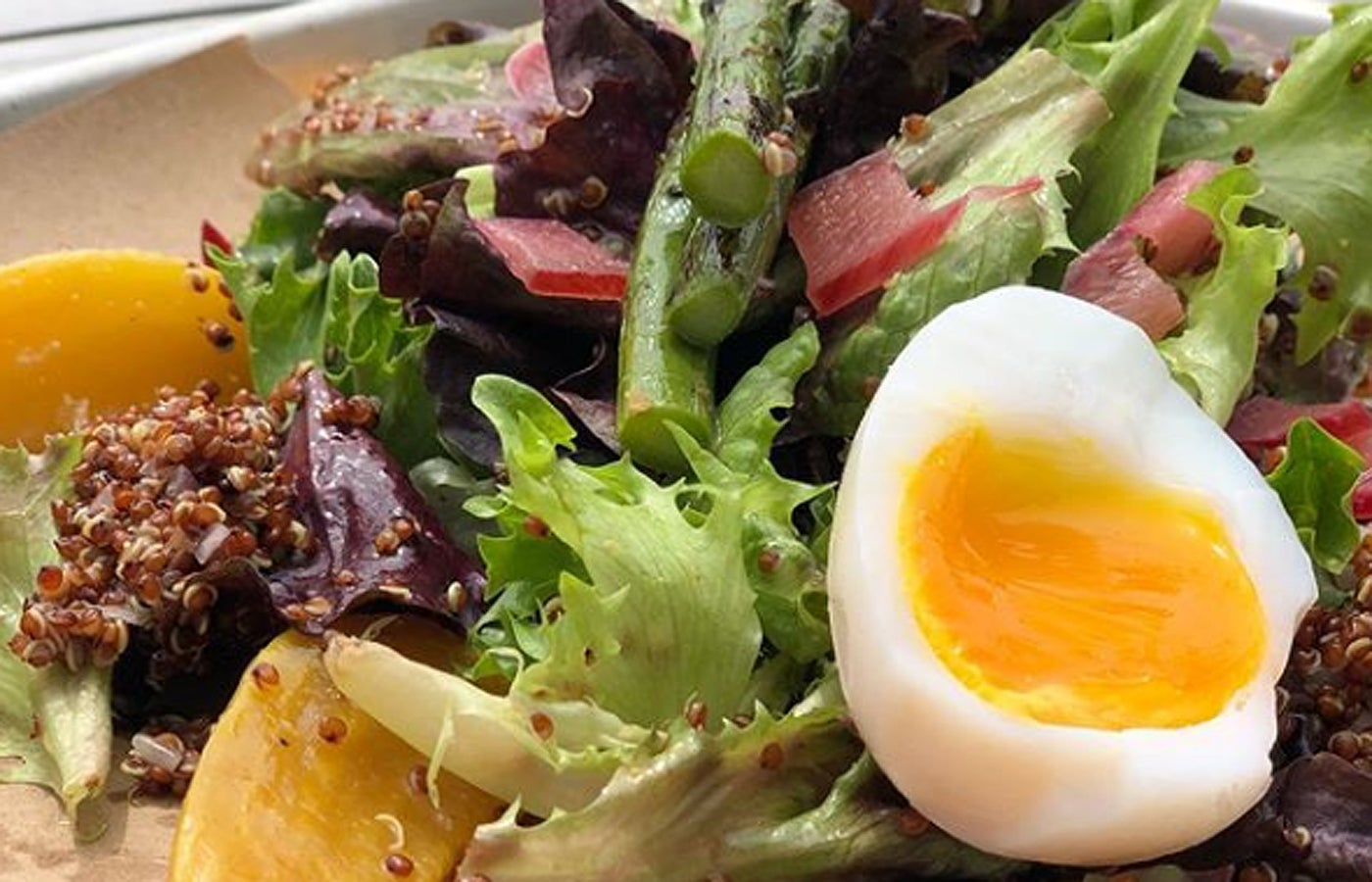 The Morning Salad at Spindler's in Provincetown.