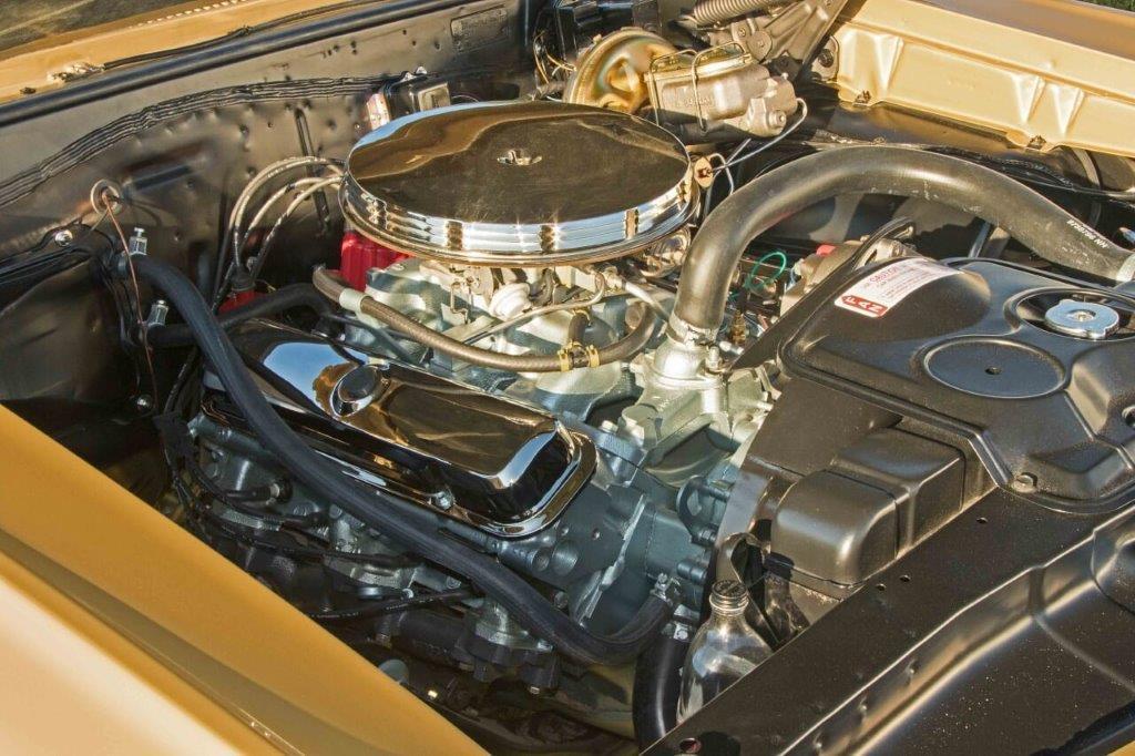 GTO engine compartment