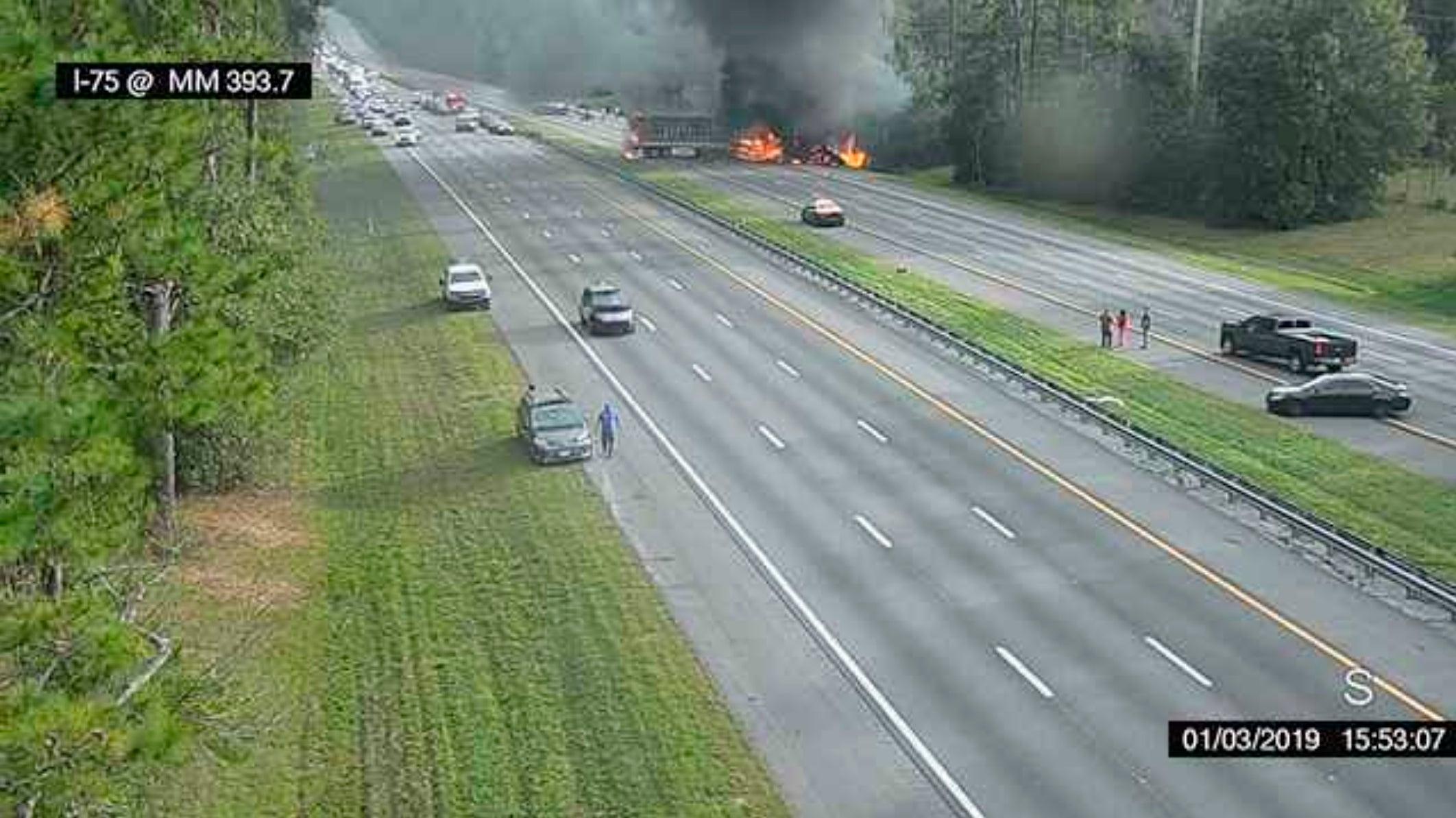 7 killed, 8 injured in crash, explosion on Florida highway | Boston com